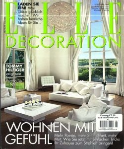 Zeitschrift Dekoration alles über die zeitschrift decoration wohnen de ratgeber