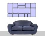 bilder aufh ngen und richtig anordnen ratgeber. Black Bedroom Furniture Sets. Home Design Ideas