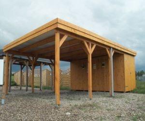 anleitung so bauen sie sich selbst ein carport wohnen. Black Bedroom Furniture Sets. Home Design Ideas