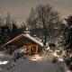 Gartenpavillon Winter Schutz