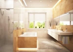 Sichtschutz im Badezimmer