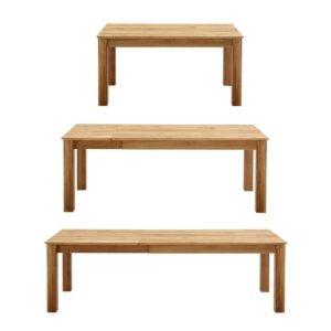 Ausziehtisch - ein Esstisch mit drei Größen - flexibel verlängerbar