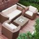 Polyrattan Gartenmöbel eignen sich für viele Zwecke im Außenbereich, auf der Terrasse und auf dem Balkon.