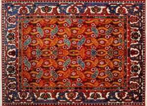 Reinigen von geknüpften Teppichen: Orientteppich reinigen