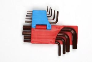 Inbusschlüssel sind praktisch, brauchen nicht viel Platz und sollten in jedem Werkzeugkoffer vorhanden sein.