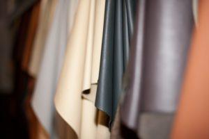 Edler Bezug für hochwertige Polstermöbel: echtes Leder.