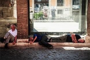 Ein entspanntes Leben: Italienische Siesta