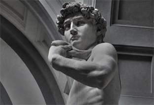 David von Michelangelo - Statuen eignen sich ideal um italienisch-mediterranes Feeling in Haus und Garten zu erzeugen.