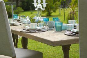 Tischkultur beim Fest im Garten: Tipps und Infos