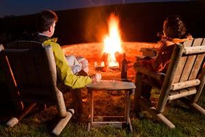 Auch bei niedrigen Temperaturen draußen sitzen: Wärme für den Außenbereich.