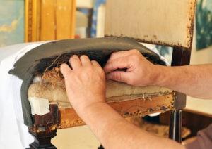 Hintergründe zur Herstellung von Polstermöbeln.
